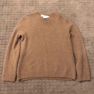 H&M tan wool sweater